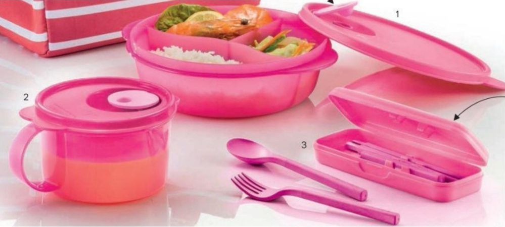 We are having an online Tupperware party!