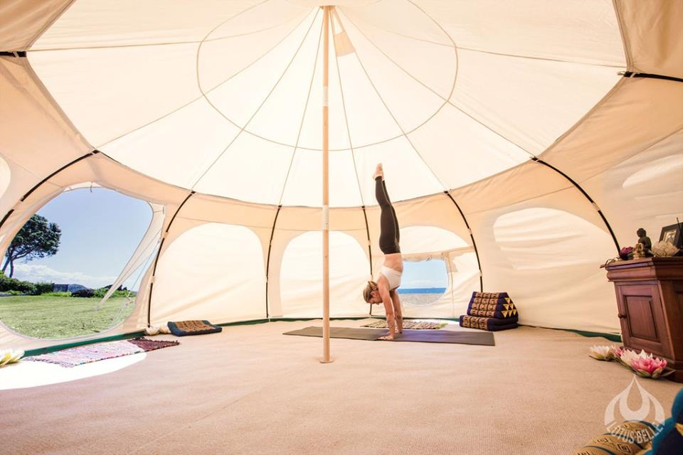 Yoga Tent - 2018 Buderim Foundation Community Grants Program (1)